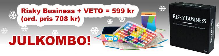 Köp Risky Business och VETO för 599 kr (ord pris 708 kr)!